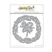 Grapevine Wreath Metal Cutting Dies Scrapbook Diary Decoration Embossing Template DIY Greeting Card Handmade 2021 New Arrive