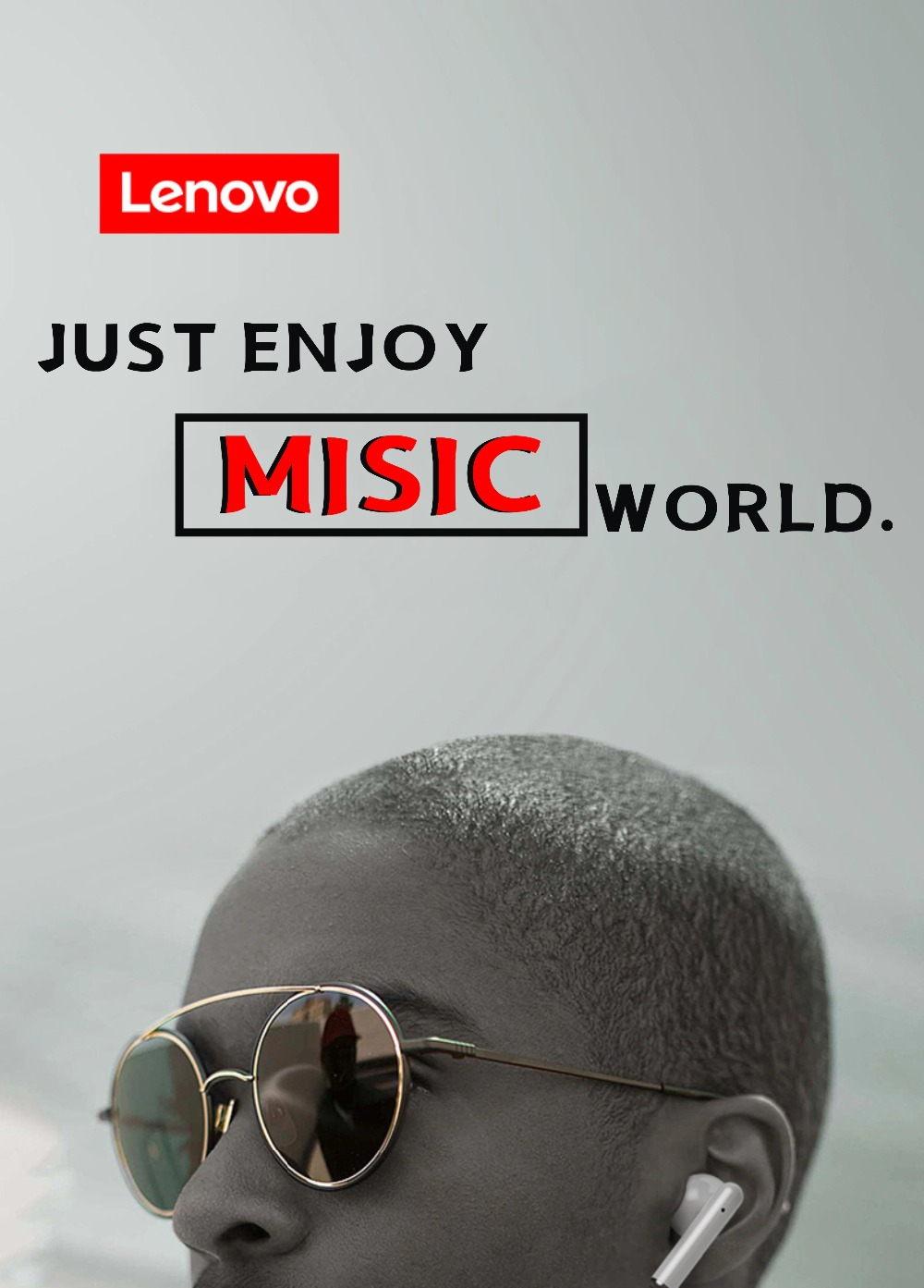 NEW Original Lenovo LP1 TWS Wireless Earphone Bluetooth 5.0 Dual Stereo Noise Reduction Bass Touch Control Long Standby 300mAH (23)
