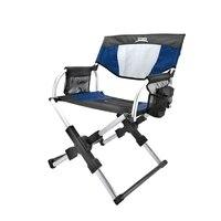 New European Magic Chair Outdoor Director Chair Aluminum Light Portable Folding Chair Beach Stool