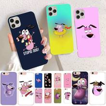 Phone-Case Courage YNDFCNB 12-Pro Cowardly Cartoon for 11 XS MAX 8/7/6/.. Dog