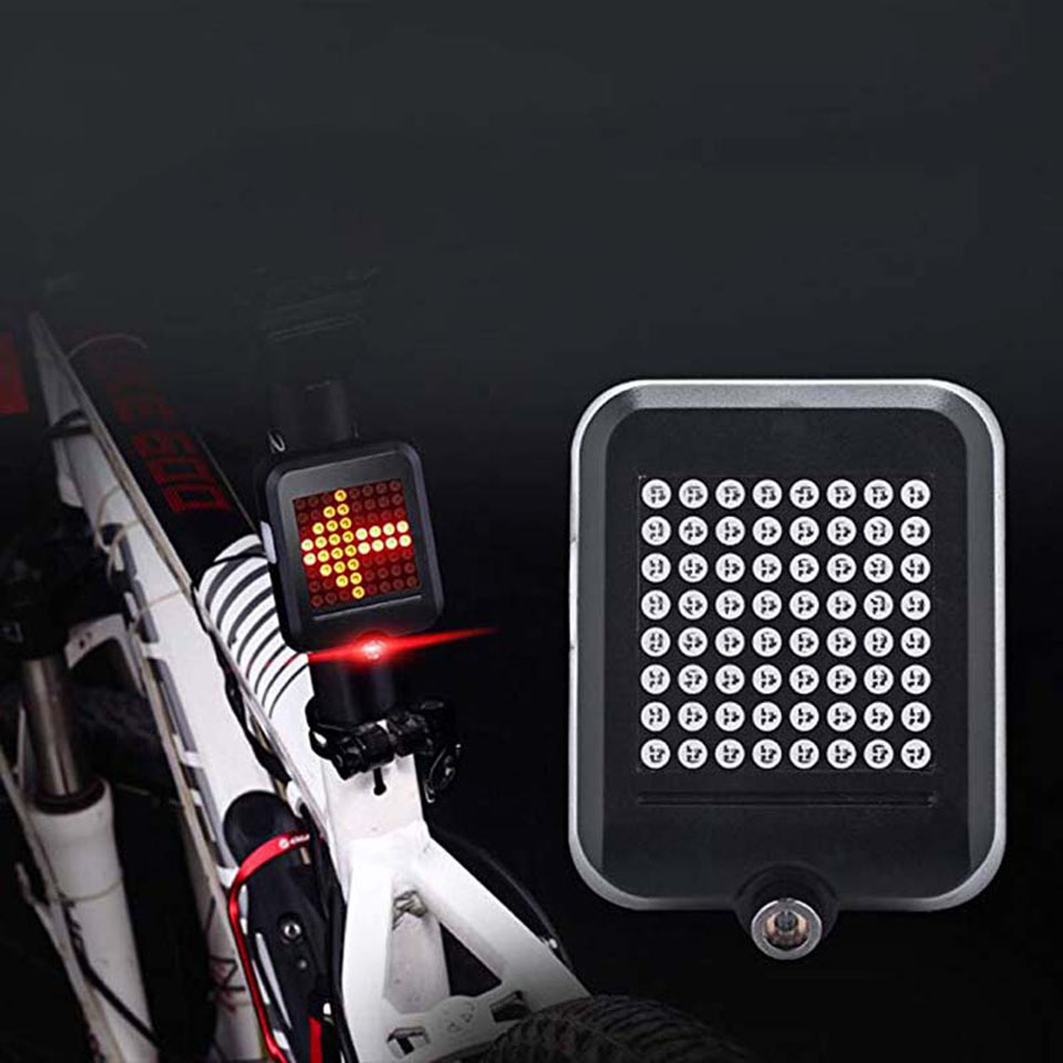 USB <font><b>Rechargeable</b></font> Intelligent Induction Bicycle <font><b>Back</b></font> Turn Signal Lamp Tail <font><b>Light</b></font> Road <font><b>Bike</b></font> Waterproof MTB Turning Lantern <font><b>Lights</b></font> image