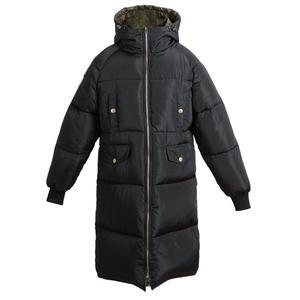 Image 5 - Autumn Winter Jacket Women Parka Warm Thick Long Down Cotton Coat Female Loose Oversize Hooded Women Winter Coat Outerwear Q1933