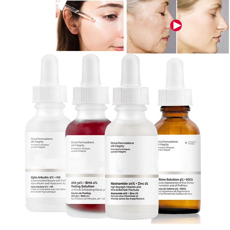 Original 30ml AHA 30% + BHA 2% Peeling Solution Face Serum 10mins Exfoliates For A Brighter And Clearer Complexion Skin Care