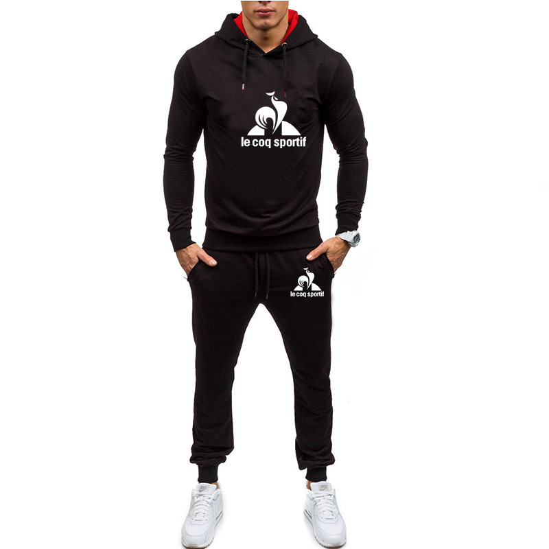 Men Tracksuits Spring 2020 Casual Mens Set Outwear  Sweartpants Two Piece Set Male Breathable Sweat Suits Man Fashion Brand Set