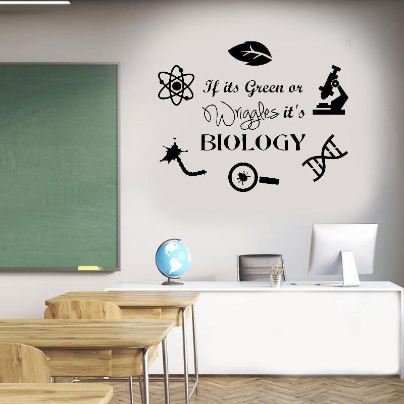 In This Classroom School Teacher Vinyl Decal Wall Decor Sticker Black or White