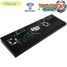 アーケードボックスパンドラ3D 4018 1機能で保存ゼロ遅延8ボタンジョイスティックコントローラpcb 160個3Dゲームレトロアーケードコンソール