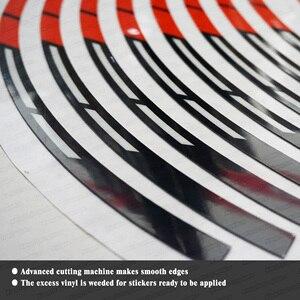 Image 5 - KUNGFU GRAPHICS Motocross Wheel Rim Stickers 21 x 18 Self Adhesive Vinyl Decals for Dirt Bike Enduro Off Road