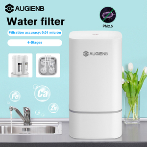 Original 4 Stage Countertop RO Water Purifier Membrane Reverse Osmosis Water Filter System Technology Kitchen Type Household use