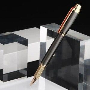 Image 2 - Hero 200E Vulpen Collection Inkt Pen 14K Gouden Fijne Penpunt Doos Pakket Kantoor School Leveranties