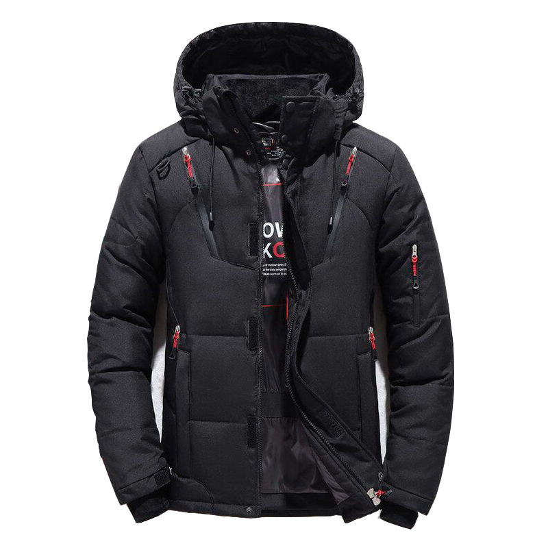 BOLUBAO Winter Brand Mens Down Coats Male Thermal Warm Parkas Thick Outwear Fashion Men Quality White Duck Down Jackets