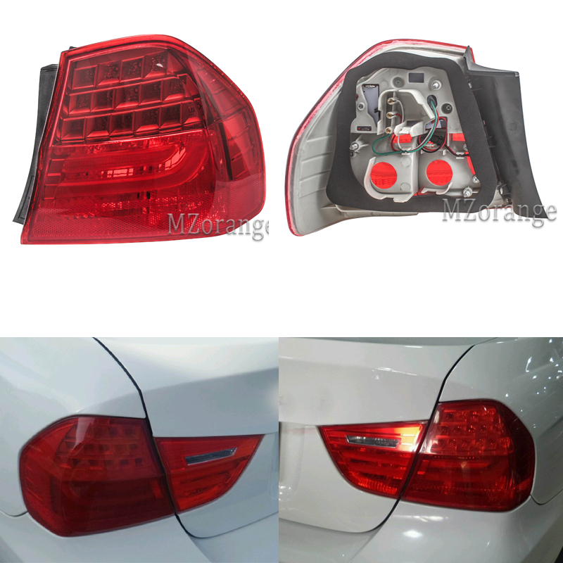 Right Side Fit For BMW 3 Series E90 Sedan 2008-2011 Outer Tail Lights Rear Lamps