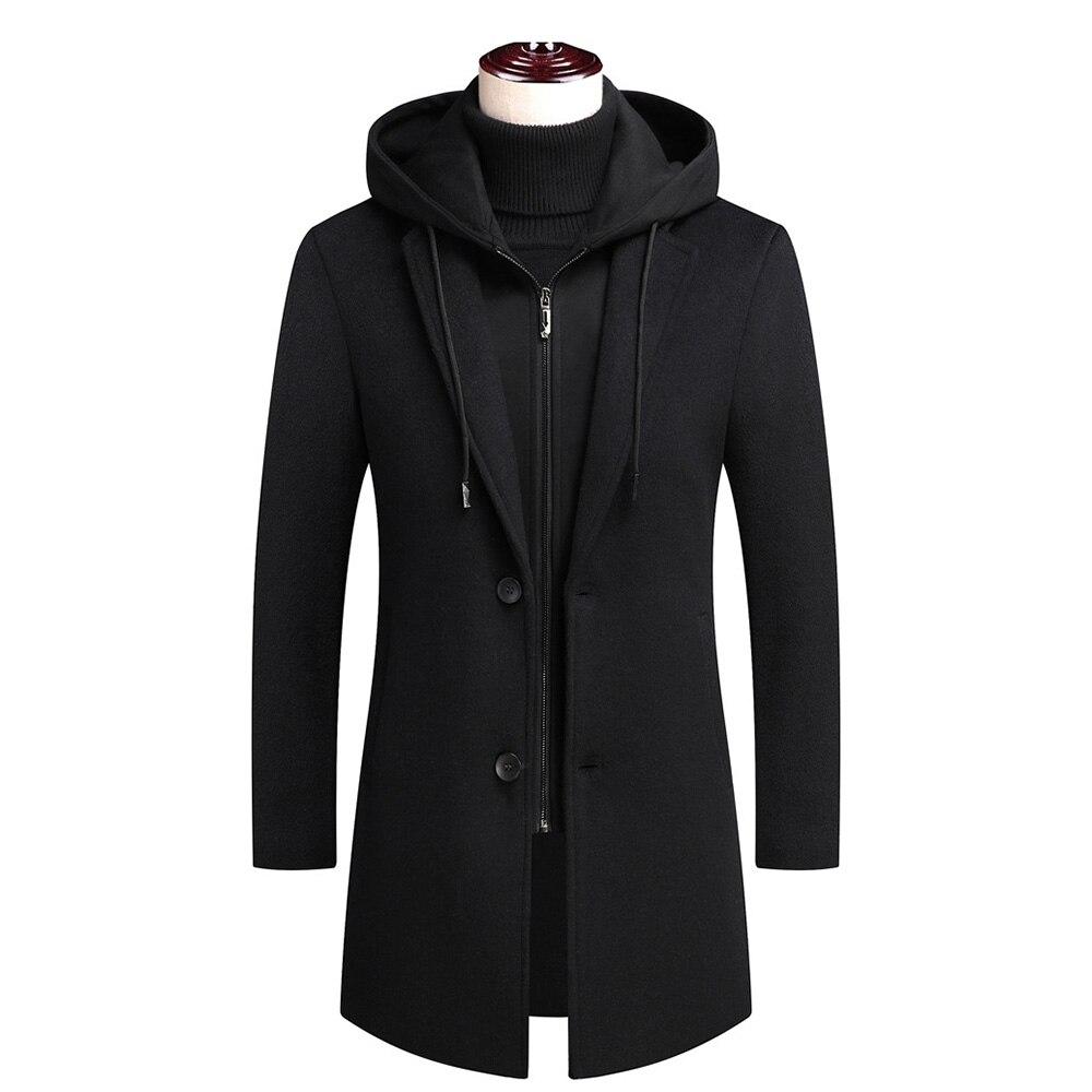 Moda masculina outono inverno casaco casacos de