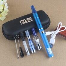 4 в 1 испаритель комплект UGO V II батарея микро USB зарядка сухая трава Vape воск толстый масло Eliquid картриджи EVOD 4в1 наборы электронных сигарет