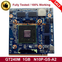 GT 240M GT240M N10P GS A2 1GB DDR3 VGA Graphic Video Card For ASUS M90GN C90P C90S M60J 100% Test
