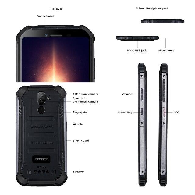 Смартфон DOOGEE S40 Pro, 4 + 64 ГБ