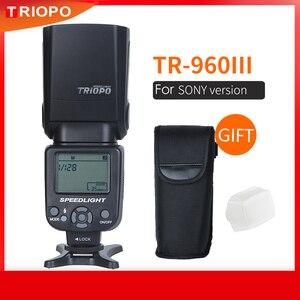 Image 1 - Triopo Speedlite Flash Speedlight TR 960 III 2.4G Wireless Suit for Sony A850 A450 A500 A560 A77 A65 A33 A35 Cameras Genunie