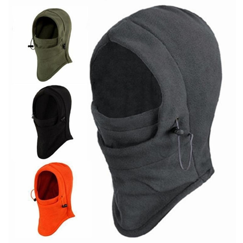 Outdoor Windproof Unisex Women Men Keep Warm Face Mask Winter Fleece Scarf Neck Warmer Face Mask Skiing Cycling Hiking Mask