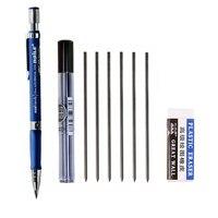 8 Teile/satz Nette Mechanische Bleistift 2 0mm 2B Zeichnung Schreiben Aktivität Bleistift mit Refill Stange Radiergummi Set Büro Schule Schreibwaren