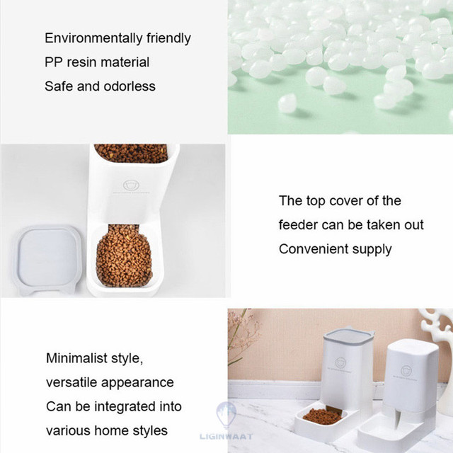 Automatic Pet Feeder 3.8L Dispenser For Cats & Dogs 5