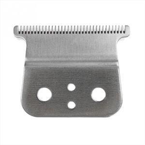 Image 4 - Yeni 2 saç kesme yedek bıçak seramik + Metal alt Andes saç kesme kesme makinesi aksesuarları
