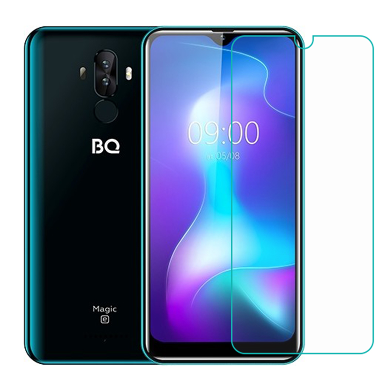 2PCS For BQ 6042L Magic E Tempered Glass Protective FOR BQ6042L Magic E Screen Protector Glass Film Phone Cover