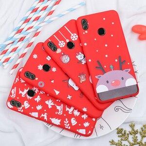 Image 4 - Telefon Fall Für Huawei P20 Lite P30 Lite auf die für Huawei Honor 10 20 Lite 9X 8X Weihnachten Santa silicon TPU Cartoon Girly Abdeckung