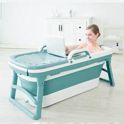 Банный бочонок для взрослых, складной кран для ванной, домашняя ванна, 1,78, цельный корпус, банный бочонок, детская утолщенная большая ванна, ...
