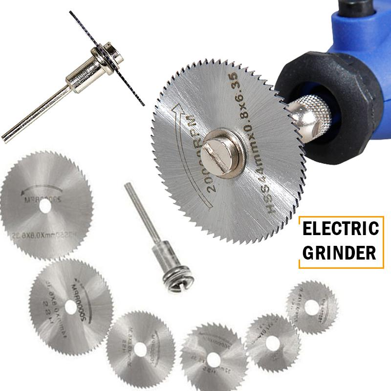 Practical Metal Cutting Disk Polishing Set High Speed Steel Sturdy Electrical Accessories Alloy Saw Blade Durable Finisher