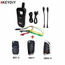 Original KEYDIY KD-X2 Fern Maker Unlocker Schlüssel Generator 96Bit 48 Transponder Chip Kopierer mit Daten Sammler und NB/ZB fernbedienung