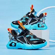 Fashion Kids Basketball Shoes Summer Breathable Sport Sneakers for Boys Non-slip Outdoor Jogging Sneakers Children Big Size28-38