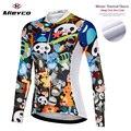 Джерси для велоспорта, теплая флисовая куртка, зимняя одежда для езды, Roupa Ciclismo, Женская велосипедная рубашка, модная одежда для велоспорта