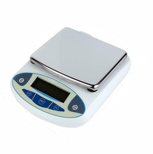 5kg x 0.01g 5000g 5000/0.01 Lab Analytical Digital Balance Scale Jewellery Electronics said with LCD display