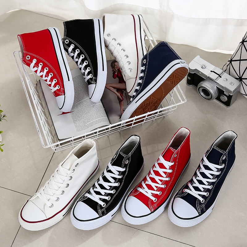 2020 Men Women Classic Sneakers Allstar Chuck-Taylor Ox Low High Top Canvas Shoes High Quality Harajuku Shoes Tenis Masculino