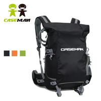 Caseman AOB4 Digital SLR DSLR Camera bag Case Large Backpack Laptop Rain cover for Canon Sony Nikon Black Waterproof Authorized