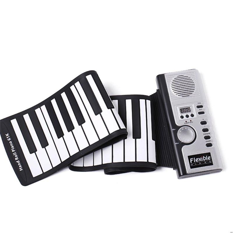 Portable Roll Up 61 MIDI teclas suaves Flexible teclado electrónico de música de Piano nuevo-in piano from Deportes y entretenimiento on AliExpress - 11.11_Double 11_Singles' Day 1