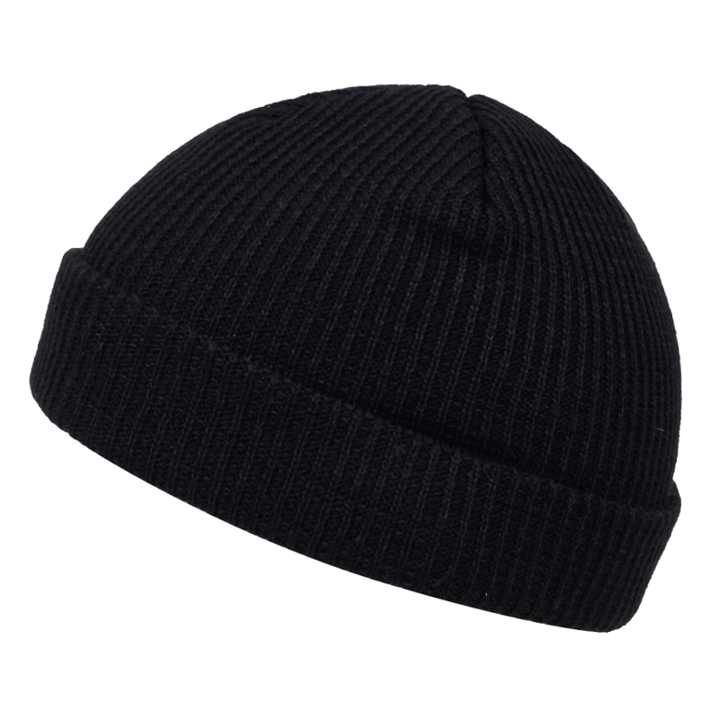 High Quality Fashion Pure Color Wool Hat Autumn Winter Men's And Women's Hip Hop Knitted Hats Warm Hat Outdoor Wild Casual Caps