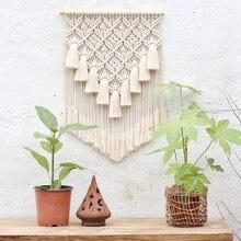 Макраме настенный домашний декор 100% ручной работы геометрические