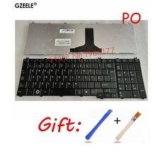 البرتغالية/بو استبدال لوحة المفاتيح لابتوب توشيبا L750 L750D L755D L760 L770D L775 C650 L650 L650D L655 L670