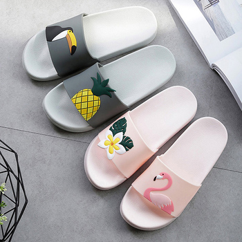 Sheep Lemon Cherry Slide Sandals Cartoon Fruits Women Slippers Summer Slides Ice Cream Home Slippers Women Shoes Flip Flops