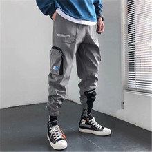 2020 NEW Patchwork Pockets Cargo Pants Men Harajuku Hip Hop