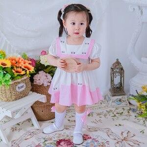 Платья с вышивкой для маленьких девочек; Детское платье принцессы; Эксклюзивное Платье для малышей; Платье для дня рождения; Испанское плат...