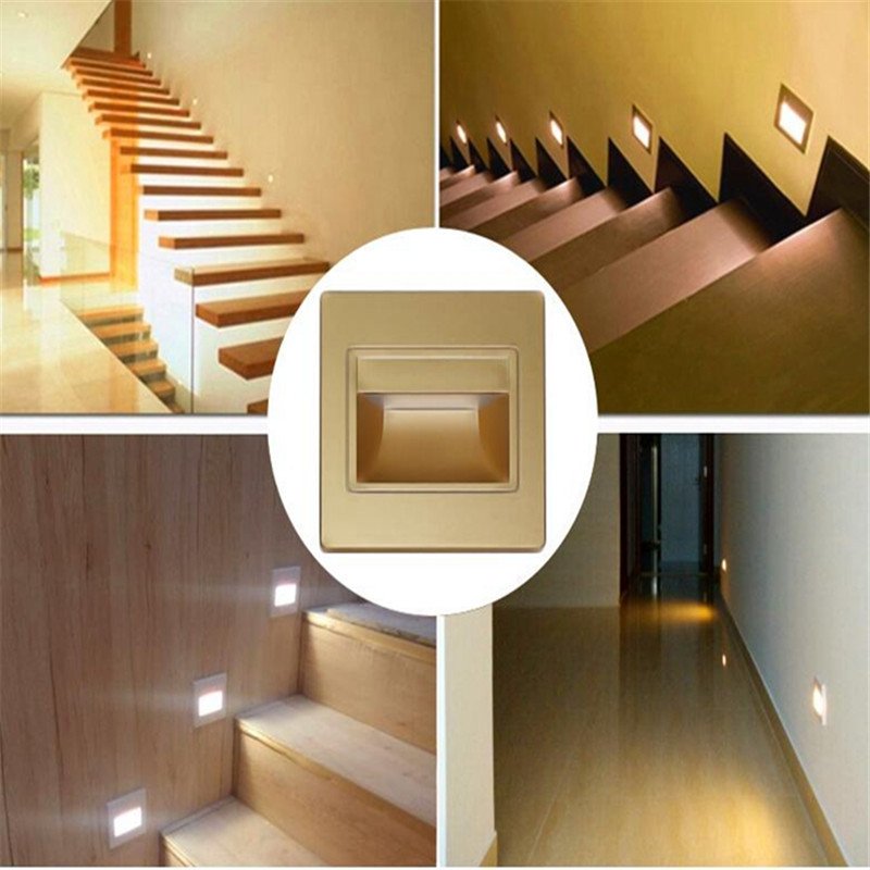 10pcs Lot Recessed Led Stair Lights