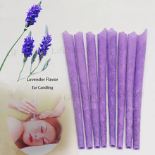 40-100pcs Lavender Hopi Ear Candle Wax Removal Tool Candle Ear Cleaner Earwax Candles Removal Indian Coning Fragrance Cleaning 1 20pcs horn earplug ear wax candle hopi ear candle wax remover tray round aromatherapy indiana candling fragrance ear cleaner