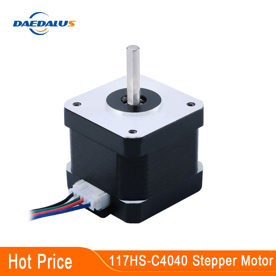 <font><b>Nema17</b></font> Stepper Motor <font><b>1.7A</b></font> Low Noise Stepping Motor Two Phase Four Wire 42 Motor For Engraving Machine and 3D Printer XYZ image
