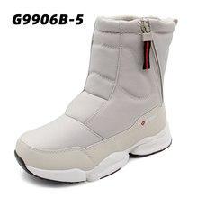 Gogc女性ブーツ女性の冬のブーツの靴雪のブーツの女性のブーツ冬のブーツ冬の靴アンクルブーツG9906