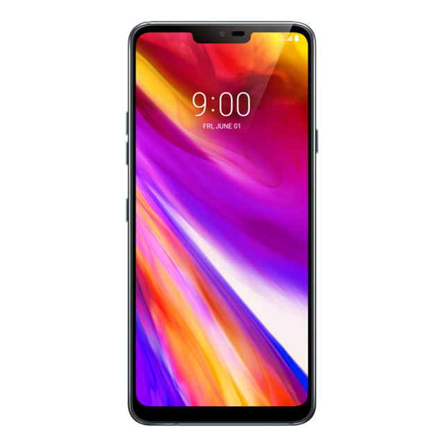 "Desbloqueado lg g7 thinq g710n 64g snapdragon 845 lte android octa núcleo câmera traseira dupla 16mp 2160p 6.1 ""telefone móvel 2"