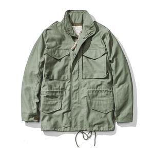 Image 1 - A.C.E. US Army The 1966 M65 Replica Field Trench Coat Camouflage Military Jacket Winter Long Outwear