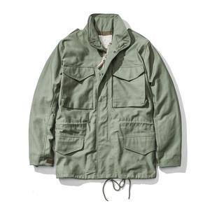 Image 1 - A. c. e. Exército dos eua 1966 m65 replica campo trench coat camuflagem jaqueta militar inverno longo outwear