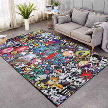 fluffy rugs carpet thicker bathroom non slip mat area rug for living room soft child bedroom mat home decor shaggy area rug mats One Piece Shaggy Fluffy Anti-Skid Area Floor Mat 3D Rug Non-slip Mat Dining Room Living Room Soft Child Bedroom Mat Carpet ST017