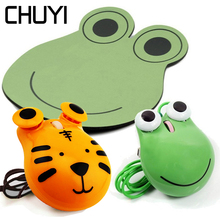 Optical-Mouse Mousepad Frog Cartoon Kids Wired 1600DPI Mini Cute For Laptop USB